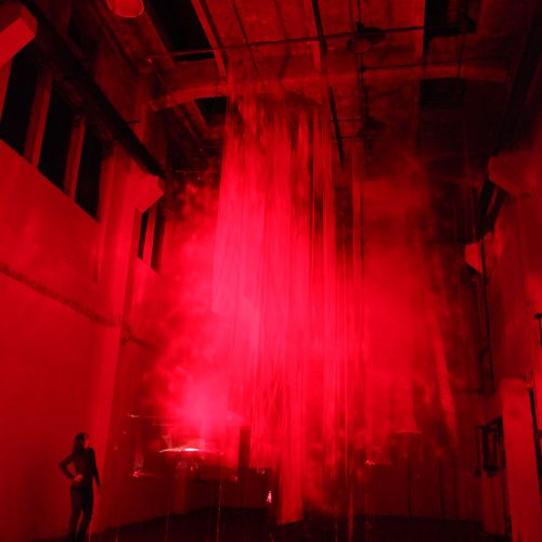 Stratachrome Red by  David Spriggs